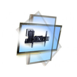 """ERGOTRON SIM90 Signage Integration Mount - nástěnný držák naklápěcí otočný pro 32"""" a větší LCD"""