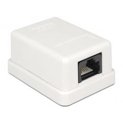 Modulární nástěnná zásuvka UTP CAT6 Compact - 1 port