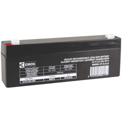 Emos baterie SLA 12V 2.2 Ah, Faston 4.8 (187)