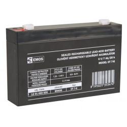 Emos baterie SLA 6V 7 Ah, Faston 4.8 (187)