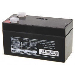 Emos baterie SLA 12V 1.3 Ah, Faston 4.8 (187)