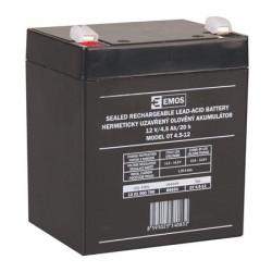 Emos baterie SLA 12V 4.5 Ah, Faston 4.8 (187)
