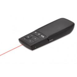Ednet Laserový bezdrátový Presentér, 2.4 GHz UL, CE, Včetně přijímače
