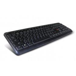 C-TECH Klávesnice CZ SK KB-102 PS2 slim black