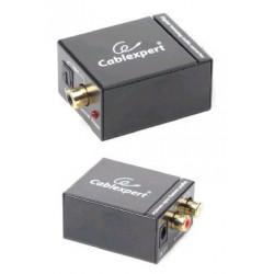 GEMBIRD Dat extender digital na analog audio konvertor, SPDIF RCA