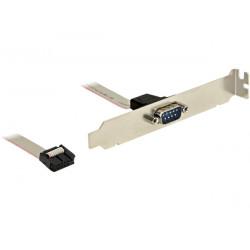 Záslepka do slotu 1x Sériový port 1:1, DB9 (27 cm)