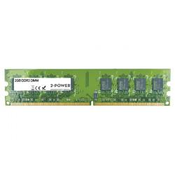 2-Power 2GB PC2-6400U 800MHz DDR2 Non-ECC CL6 DIMM 2Rx8 ( DOŽIVOTNÍ ZÁRUKA )