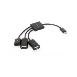 GEMBIRD USB hub CABLEXPERT, OTG