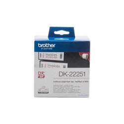 Brother - DK-22251 (papírová role 62mm x 15,24m) - dvoubarevný tisk při použití v QL-8xx