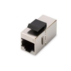 Digitus CAT 5e modular coupler, shielded RJ45 to RJ45, for panel connection