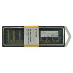 2-Power 512MB 400MHz DDR Non-ECC CL3 DIMM 1Rx8 ( DOŽIVOTNÍ ZÁRUKA )