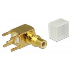 Delock Adapter SMC samice 90° pravoúhlý PCB