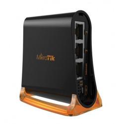MikroTik RouterBOARD RB931-2nD, hAP mini, 650Mhz CPU, 32MB RAM, 3xLAN, 2.4Ghz 802b g n, ROS L4, case, PSU