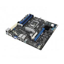 ASUS P11C-M 4L, 1151, Intel® Xeon® E-21XXX (95W), C242, 4DIMM, 4 Intel i210AT+1Mgt LAN, 6 SATA, 2 M.2, micro-ATX