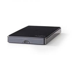 """Nedis HDDE25100BK - Přenosný Box Pro Pevný Disk   2.5 """"   Připojení SATA II   USB 2.0"""