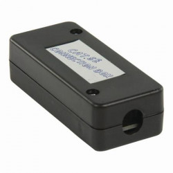 Nedis CCGP89800BK - Síťová zásuvka   Pro Síťové Kabely UTP - Černá barva
