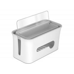Delock Box pro správu kabelu se skladovacím pouzdrem bílý šedý