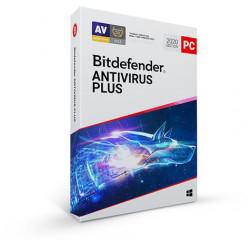 Bitdefender Antivirus Plus 5 zařízení na 1 rok
