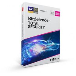 Bitdefender Total Security 10 zařízení na 3 roky