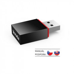 Tenda U3 WiFi N USB Adapter, 300 Mb / s, 802.11 b / g / n, režimy Client / Soft AP, OS Win,Mac,Linux,Raspb