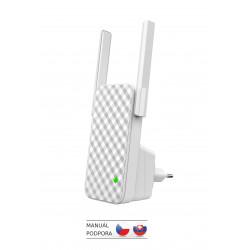 Tenda A9 - WiFi N Range Extender, opakovač 300 Mb s, WPS, 2x 3 dBi anténa