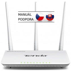 Tenda F3 (F303) WiFi N Router 802.11 b / g / n, 300 Mbps, WISP, Universal Repeater, 3x 5 dBi antény