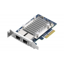 QNAP QXG-5G2T-111C - 5GbE (2 porty) PCIe karta pro PC i NAS