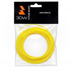3DW - ABS filament 1,75mm žlutá, 10m, tisk 220-250°C