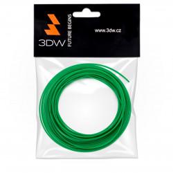 3DW - ABS filament 1,75mm zelená, 10m, tisk 220-250°C