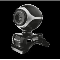 webkamera TRUST Exis Webcam - Black Silver