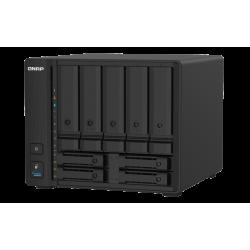 "QNAP TS-932PX-4G (1,7GHz 4GB RAM 5x 3,5"" + 4x 2,5"" SATA 2x 2,5GbE 2x 10G SFP+ 3x USB 3.2)"