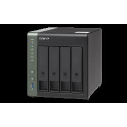 QNAP TS-431X3-4G (1,7GHz 2GB RAM 4x SATA 1x GbE 2x 2,5GbE 1x 10GbE SFP+ 3x USB 3.2)