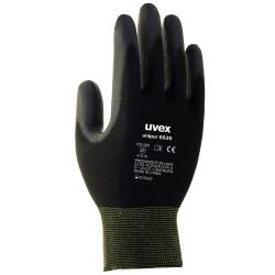 UVEX Rukavice Unipur 6639 vel. 9 přesné práce suché a mírne vlhké prostředí vysoká citlivost černé