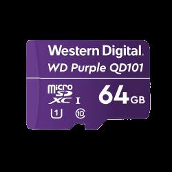 WD Purple microSDXC 64GB Class 10 U1