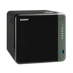 QNAP TS-453D-8G (2,7GHz 8GB RAM 4x SATA 1xHDMI 4K 1xPCIe 2x2,5GbE 3xUSB 2.0 2xUSB 3.2)