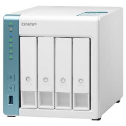 QNAP TS-431K 1,7GHz 1GBRAM 4xSATA 2xGbE 3xUSB3.2