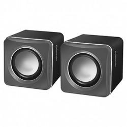 Defender reproduktory SPK-33, 2.0, 5W, šedé, kompaktní velikost, 100Hz~20kHz