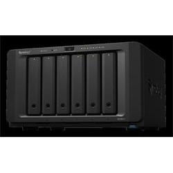 Synology DiskStation DS1621+, 6-bay NAS, CPU QC AMD Ryzen V1500B 64bit, RAM 4GB, 3x USB 3.0, 2x eSATA, 4x GLAN, 1x PCIe