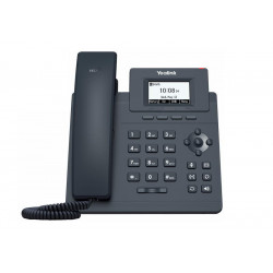"Yealink SIP-T30P SIP telefon, PoE, 2,3"" 132x64 nepodsv. LCD, 1 x SIP úč., 100M Eth"
