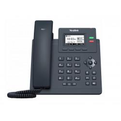 "Yealink SIP-T31P SIP telefon, PoE, 2,3"" 132x64 podsv. LCD, 2 x SIP úč., 100M Eth"