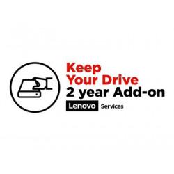 Lenovo Keep Your Drive Add On - Prodloužená dohoda o službách - 2 let - pro ThinkStation P310 30AS, 30AT, 30AU, 30AV; P410 30B2, 30B3
