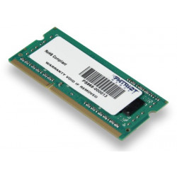 SO-DIMM 4GB DDR3-1600MHz PATRIOT CL11 SR