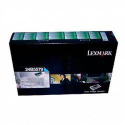 Lexmark originální toner 24B5579, cyan, 10000str., high capacity, return, Lexmark CS748, CS748de, CS748dte, CS748e, O