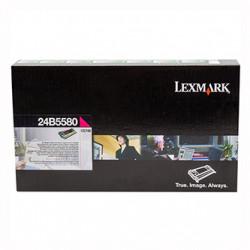 Lexmark originální toner 24B5580, magenta, 10000str., high capacity, return, Lexmark CS748, CS748de, CS748dte, CS748e, O