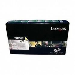 Lexmark originální toner 24B5581, yellow, 10000str., high capacity, return, Lexmark CS748, CS748de, CS748dte, CS748e, O