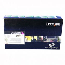 Lexmark originální toner 24B5702, magenta, 10000str., high capacity, return, Lexmark XS748, XS748de, O