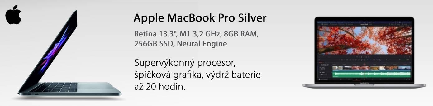 """Macbook pro silver 13"""""""